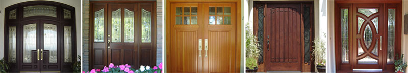 Selection of Custom Doors